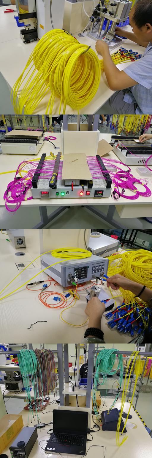 4 Duplex Mpo Mtp Cable Customized Length Breakout Fiber Optic Mtpmpocrossovercablediagram1jpg With Aqua Color